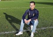 Giordan Martino ist seit Juniorentagen auf dem Baarer Lättich heimisch. (Bild: Werner Schelbert (14. September 2017))