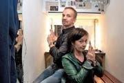 Michael van Orsouw und Judith Stadlin dürfen Ihre «Satz & Pfeffer»-Produktionen um ein Berliner Kapitel erweitern. (Bild: Nadia Schärli / Neue LZ)