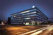Hauptsitz der CSS an der Luzerner Tribschenstrasse: Hier wurden den Mitarbeiter 30 Portemonnaies gestohlen. (Bild: PD)