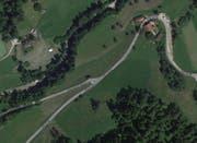Bushaltestelle Burgmatt in Doppelschwand. (Bild: googlemaps)