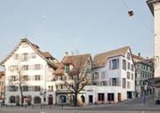 Visualisierung des Neubauprojekts am Kolinplatz 21 (Bild: Visualisierung PD)