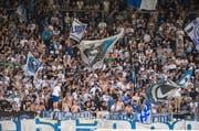 Der FC Luzern wird beim Cup-Spiel gegen den SC Kriens auf einen Teil seiner Fans verzichten müssen. (Symbolbild LZ)
