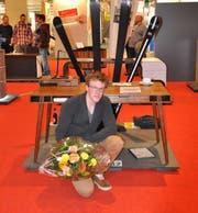 Der Gewinner des OPO Beschlagpreises: Florin Stettler aus Luzern. (Bild: PD)