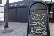 Das Loris Coffee war während etwas mehr als zwei Jahren geöffnet. (Bild: Werner Schelbert (Walchwil, 18. Mai 2017))