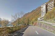 Der Einbau des Deckbelags auf der Gersauerstrasse erfolgt vom Schiller (Bild) bis Fallenbach. (Bild: Google Maps)