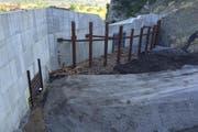 Das Hochwasserprojekt der Kleinen Melchaa in Giswil ist fast abgeschlossen. (Bild: pd)