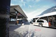 Der Bahnhof Altdorf soll zur Drehscheibe des ÖV im Kanton Uri werden. (Bild: Urs Hanhart (Altdorf, 15. März 2017))