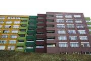 Das Betagtenzentrum Staffelnhof im Luzerner Stadtteil Littau. (Bild: Manuela Jans / Neue LZ)