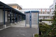 Innenhof des Spital Lachen. (Archivbild Neue LZ)