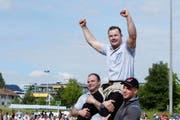 Christian Schuler hat seinen Titel vom letzten Jahr erfolgreich verteidigt. (Bild: Werner Schelbert / Neue ZZ)