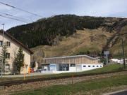 So sieht die neue Talstation der 8er-Gondelbahn in Andermatt aus. (Bild: Visualisierung PD)