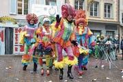 Theatergruppe Kronenschoss mit dem Motto Brainwash. (Bild: Julia Stephan)