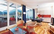 Ein Zimmer im Hapimag-Alpenresort Interlaken. (Bild: PD)