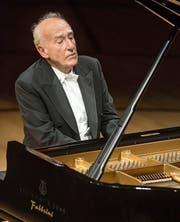 Seit 40 Jahren auf Luzerner Bühnen: Maurizo Pollini. (Bild: PD/Lucerne Festival/Priska Ketterer)
