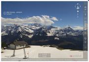 Das erste und einzige der geförderten Projekte, das fertig umgesetzt wurde, ist die 360°-Panorama-Webcam Schächental. (Bild: http://www.biel-kinzigag.ch/screenshot)
