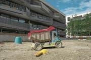 Feldbreitequartier in Emmen: Auch die Gemeindefinanzen sind noch nicht im grünen Bereich. (Bild: Nadia Schärli (26. Juli 2016))