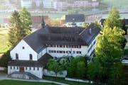 Das ehemalige Kapuzinerkloster Schüpfheim aus der Vogelperspektive. (Bild: pd)