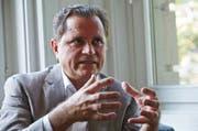 In welchen Räumen das Lucerne Festival die Opern-Pläne verwirklichen kann, sei nun Bestandteil der weiteren Diskussion mit den Partnern und der Stadt und dem Kanton, sagte Haefliger. (Bild Jakob Ineichen)