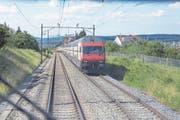 Für Zentralschweizer Reisende ins Bündner- und Glarnerland sind die Verbindungen nach Thalwil entscheidend. (Bild: Gaetan Bally/Keystone (Thalwil, 27. Juni 2016))