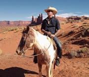 Adrian war schon mehrmals in Amerika, um dort «wie ein Cowboy durch das Gelände zu reiten». (Bild: PD)