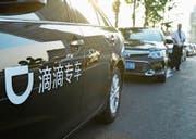 Der Fahrdienstvermittler Didi Chuxing hat sich in China durchgesetzt und will jetzt expandieren.Bild: Getty (Dalian, 27. Juni 2017)