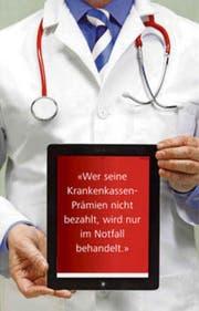 Luzerner Ärzte dürfen säumige Zahler von Krankenkassen-Prämien nur in Notfällen behandeln. (Bild: Getty/Bildbearbeitung Janina Noser)