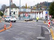 Die Einfahrt vom Seetalplatz her in die Hauptstrasse Reussbühl ist für Autos strikt verboten. Bild: PD