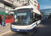 Dieser Bus ist seit gestern für die Zugerland Verkehrsbetriebe im Kanton unterwegs. (Bild: Marco Morosoli (Zug, 2. Februar 2018))