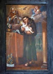 Das Ölbild auf Leinwand von Kaspar Wolfgang Muos hängt heute im grossen Kreuzgang der Kartause Ittingen. (Bild: Andreas Fässler / Neue ZZ)