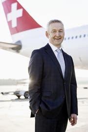 Thomas Klühr, CEO der Swiss. (Bild: PD)