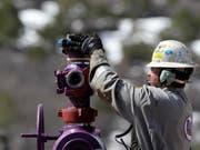 Beim Fracking wird Gas aus Schiefergestein gelöst (Symbolbild) (Bild: Keystone)
