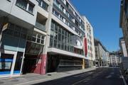 Bis 2012 war hier das Kino Limelight. Bald werden künftige Hotelfachleute hier einziehen. (Bild Dominik Wunderli)