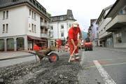 Geht es nach dem Willen der Regierung, wird in Nidwalden (im Bild Stans) die Obergrenze für Strassenivestitionen von 1,2 Milliopnen Franken abgeschafft. (Bild: Archiv Corinne Glanzmann / Neue NZ)