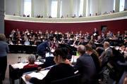 Der Luzerner Kantonsrat hat den Voranschlag mit 89 zu 23 Stimmen genehmigt. Das Bild stammt vom 30. November. (Bild Nadia Schärli)