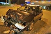 Die Unfallstelle bei der Chollermüli. (Bild: Zuger Polizei)