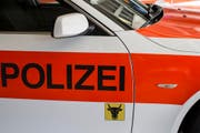 Einsatzwagen der Polizei. (Bild: Alexandra Wey / Keystone)