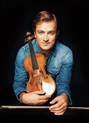 Tritt im KKL Luzern auf: der Violinist Renaud Capuçon (41). (Bild: Simon Fowler)