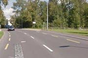 An dieser Kreuzung in Zug geschah der Unfall. (Bild: Google Maps (Screenshot))