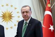 Der türkische Präsident Recep Tayyip Erdogan. (Bild: Keystone)