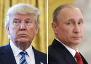Trump begründete den Angriff mit US-Sicherheitsinteressen, Putin hält die Angriffe für eine Aggression gegen einen souveränen Staat. (Bild: Keystone)