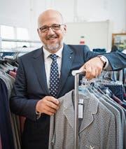 Der Ex-Präsident des Verbandes Swiss Textiles, Andreas Sallmann. (Bild: Ralph Ribi (Amriswil, 19. Juni 2017))