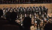 Das Debüt der Argovia Philharmonic im KKL lässt auf weitere Konzerte hoffen. (Bild: Dominik Wunderli (Luzern, 10. Januar 2017))