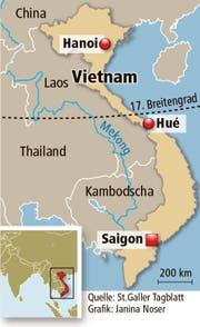 Blick auf Vietnam. (Bild: Grafik: Janina Noser)