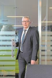 Der Präsident des Raiffeisen-Verbandes Luzern, Ob- und Nidwalden, Kurt Sidler. Bild: Dominik Wunderli