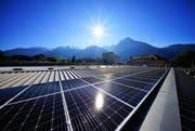 Die Anlage produziert Solarstrom. (Bild: PD)