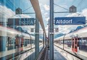 Der Bahnhof Altdorf wird zum neuen Kantonsbahnhof für Uri ausgebaut. (Bild: Angel Sanchez)