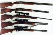 Mehrere Schusswaffen sind weg. (Symbolbild)