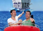 Auf Abschiedstour: René Rindlisbacher und Sven Furrer als Duo Edelmais. (Bild: PD)