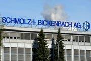 Die Schmolz und Bickenbach AG in Emmenbrücke. (Bild: Keystone)