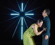 Nicole Chevalier als Manon und Diego Silva als Des Grieux. (Bild: Ingo Höhn)